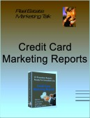 credit card marketing reports