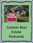 custom real estate postcards