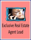 exclusive real estate agent lead
