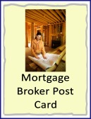 mortgage broker post card