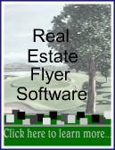 Real Estate Flyer Software