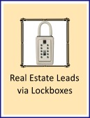 real estate leads via lockboxes