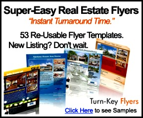 real estate flyer,
