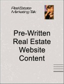 real estate web site content