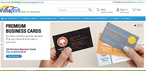 Order Business Cards Online From Vista Print and Save Big Money!