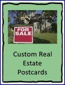 custom real estate postcards