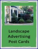 landscape advertising post cards