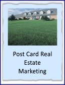 post card real estate marketing
