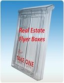 Real Estate Flyer Boxes